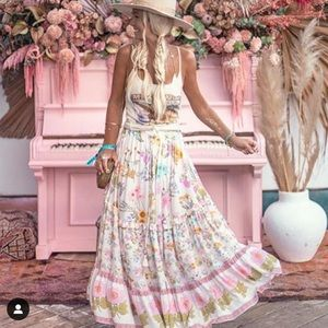 Spell & The Gypsy Wild Bloom Maxi Skirt